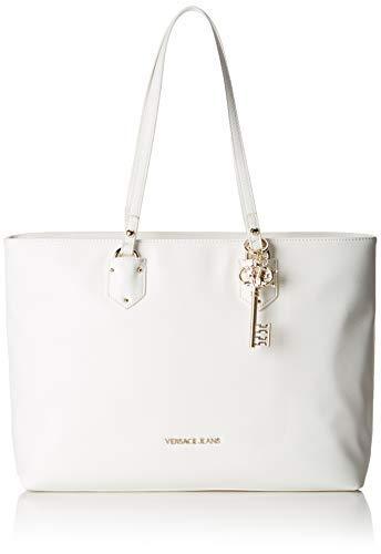Versace Leder Jeans (Versace Jeans Couture Damen Bag Schultertasche, Schwarz (Nero), 12x30,5x39 centimeters)