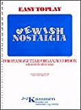 Juif Nostalgia facile P/V International SongBook
