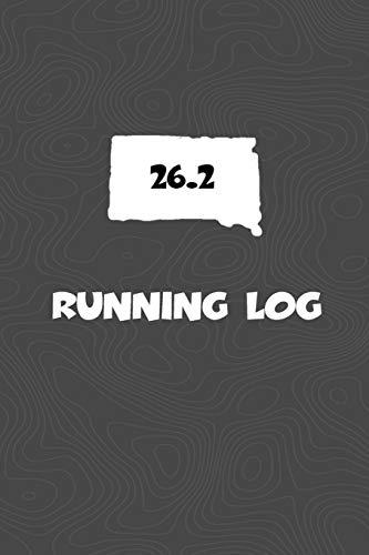 Running Log: Blank Lined Journal for anyone that loves South Dakota, running, marathons! por KwG Creates