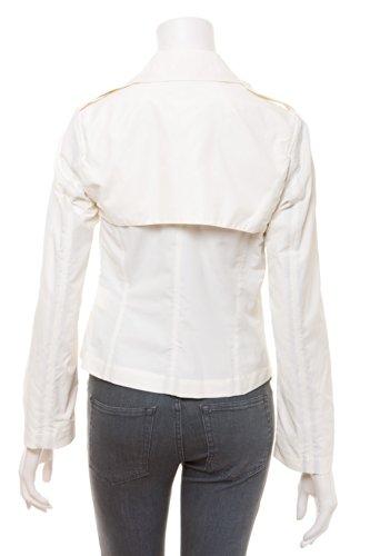 "C'n'c by costume national-veste style motard/trench-canard/coquille d ""œuf (blanc cassé) Ecru - Eierschale"