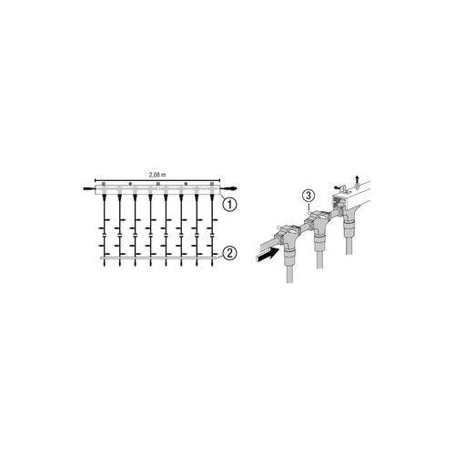 MK Mounting Track 014-855guida di fissaggio per MK luce