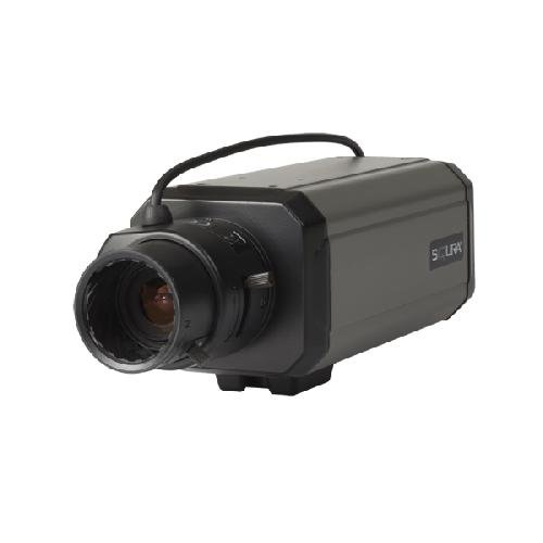 BC840MC SIQURA, 2 Megapixel Full HD Box Multicodec IP-Kamera von SIQURA