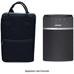 Case Wonder Sacoche de Transport Résistant à l'eau Zipper Portable Fermeture éclair Sacs Cas Housse Peaux pour Système audio sans fil Bose SoundTouch 10 Système Audio Sans fil
