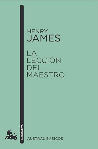La lección del maestro par Henry James