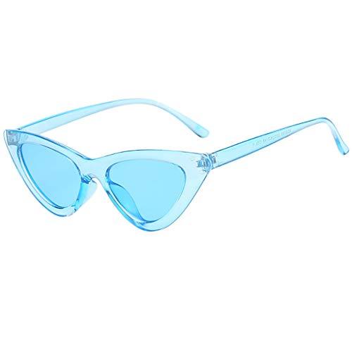 iYmitz Sonnenbrillen Frauen, Unisex Vintage Farbkombinationen Auge Retro Damen Klassiker Brillen Mode Strahlenschutz Brille(Mehrfarbig,G)