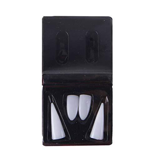 Fälschungs Tooth Cosplay Vampire falsche Zähne für Festival Tanzen Partei Dressing Prop ()