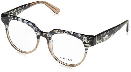 Guess Unisex-Erwachsene GU2652 056 50 Brillengestelle, Braun (Avana) - Guess Brille Frames