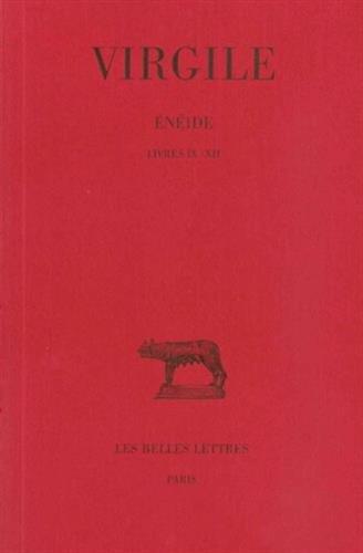 Énéide. Tome III : Livres IX-XII