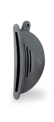 Lacor 60012 - Par de manopla cubreasas silicona, negro width=