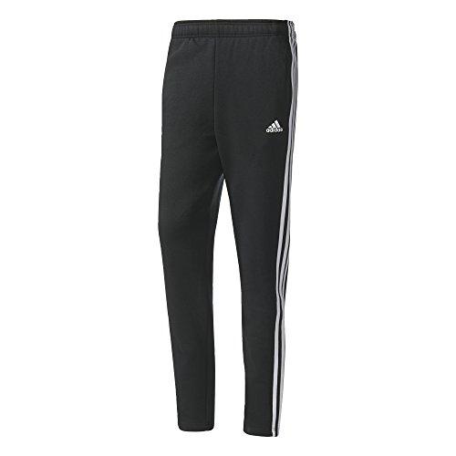 Preisvergleich Produktbild adidas Herren Essentials 3-Streifen Fleece Hose,  Black / White,  XL / L