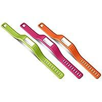 Garmin Ersatzarmbänder vivofit orange, pink, grün (groß)