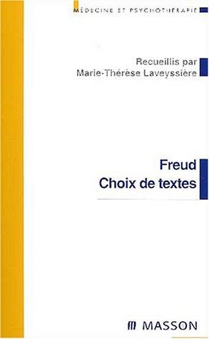 Freud : Choix de textes