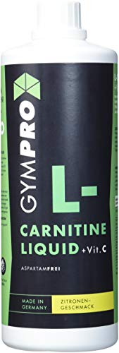 L-Carnitin Liquid von Carnipure + Vitamin C Hochdosiert mit 2000mg Carnitin pro Portion. Made in Germany (1000ml)