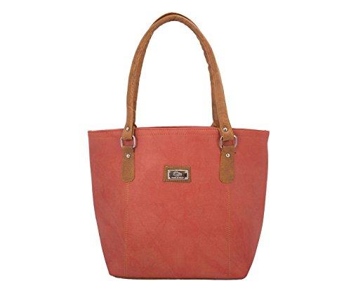 The Blue Pink Women\'s Handbag(Orange,Jes-1308)
