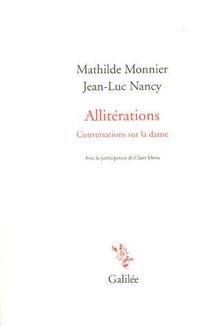 Allitérations : Conversations sur la danse par Jean-Luc Nancy