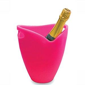 Ice Bucket Ideen (Pulltex Vibrant Strawberry Pink Ice)