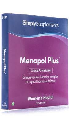Menapol Plus, 120 Gélules - Adapté aux Besoins Spécifiques de la Femme, Contient du Cranberry, Fabriqué au Royaume-Uni