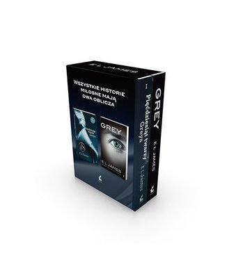 Pakiet Grey: Dwa oblicza Greya - Erika Lena James [KSIĄŻKA]