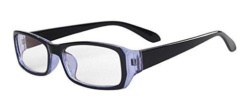 DAUCO Blaues Licht-blockierende Brille, Anti Blendung Müdigkeit Blockt Kopfschmerzen Augenschmerzen, Sicherheitsbrille für Computer / Telefon / Tablets-Blauer Film