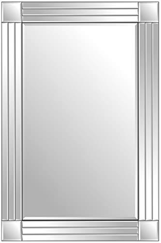MirrorOutlet Espejo Baño Veneciano Triple Biselado