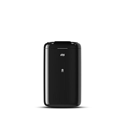 Tork 564008 Mini Abfallbehälter B3 / Stabiler 5L Mülleimer in ansprechendem Elevation Design in Schwarz/Praktische Größe