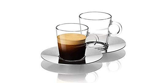 NESPRESSO Espressogläser - 2er Set - Glass Espresso - Espresso Glass Cup 60 ml thumbnail