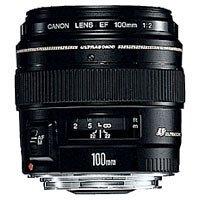 Canon EF 100mm 1:2,0 USM Objektiv (58 mm Filtergewinde)