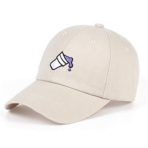 Preisvergleich Produktbild Knncch Stickerei Coke Cup Im Freien Dad Cap Männer Frauen Mode Baseballmütze Klassische Casual Golf Hut Mode Schirmmütze