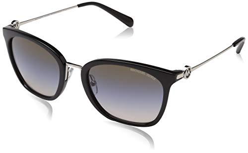 Michael Kors Damen Lugano 33047U 53 Sonnenbrille, Milky White/Lighttaupeflash