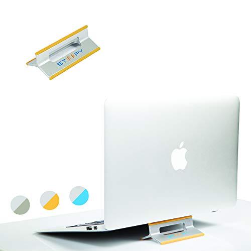 steepy Ständer Riser belüftet Schreibtisch Accesory für Laptop | Notebook | Smartphone | iPad One Size Orange Sunrise Tilt Smartphone