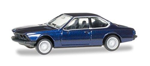 Herpa 038683 - BMW 635 CSi, Alpin/blau/metallic