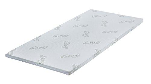 MatraMAXX Latex Topper-100cm-200cm-Aloe Vera Doppeltuch