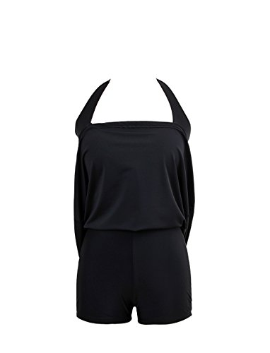 Moolecole Vintage Sailor Push Up Badeanzug Bikini Cover Up Bademode Schwarzer Weißer Punkt