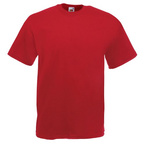 Fruit of the Loom Valueweight T-Shirt Brick Red