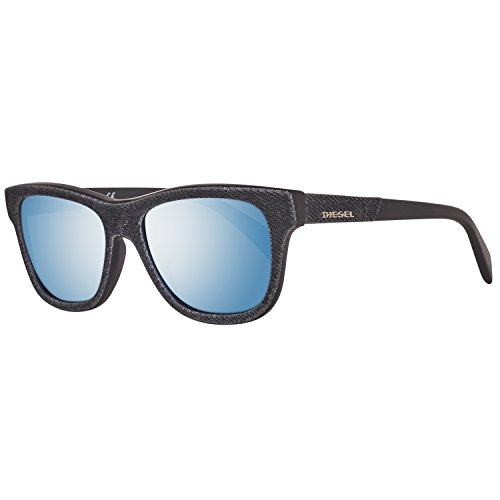 Diesel sonnenbrille dl0111 5201x, occhiali da sole unisex-adulto, nero (schwarz), 52