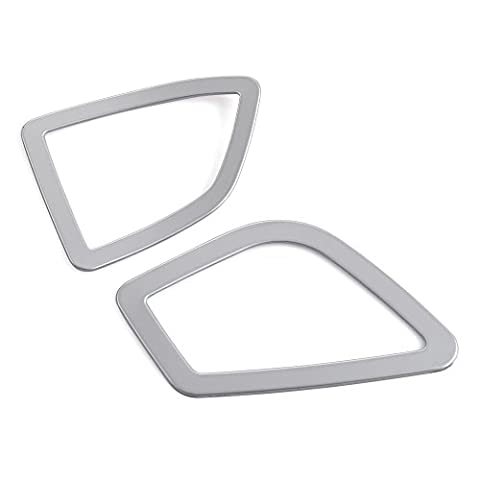 Stainless Steel Upper Air Vent Cover Trim fit BMW 3 4 Series F30 F32 F34 320 420 2013 2014
