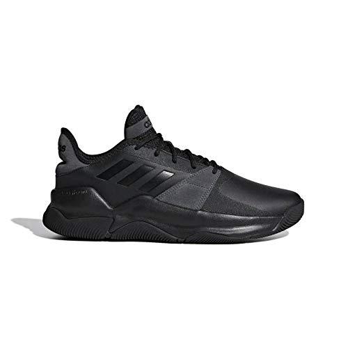 adidas Herren Streetflow Basketballschuhe, Schwarz (Negro 000), 42 2/3 EU
