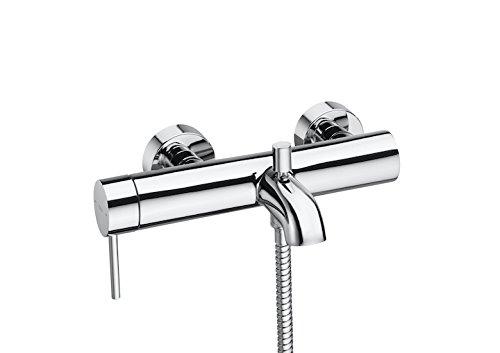 Roca Lanta – grifo monomando exterior baño y ducha con inversor automático . Griferías hidrosanitarias Monomando. Ref. A5A3011C00