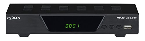 Comag HD25 Zapper Full HD digitaler Satelliten Receiver (PVR Rready) schwarz