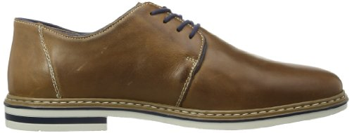 Rieker B1422 Scarpe Stringate Uomo Derby Marrone (toffee / Royal / Cinnamon / 25)