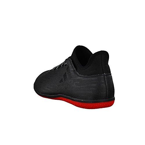 Adidas Uomo X 16,3 In Scarpe Da Calcio Nero-nero-grigio