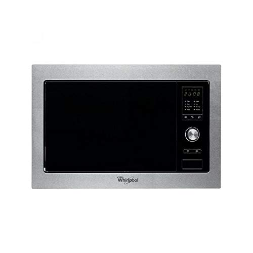 Whirlpool AMW 160/IX Integrado 25L 900W Acero inoxidable - Microondas (Integrado, 25...