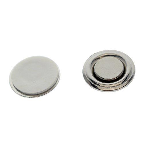 Kleine runde Knopf & Badge Magnete–stark Magnetische markenplakette und Anstecknadel Halterungen mit Aufkleber selbstklebende Rückseite durch Specialist ID 10er-Pack