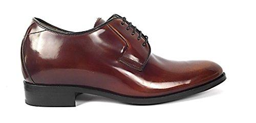 ZERIMAR Scarpe con aumentato interno di + 7 centimetri ¡ATTENZIONE OFFERTA SPECIALE 7,5 ANNIVERSARIO! Scarpe in pelle bovina di alta qualità 100% pelle Colore cuoio Cuoio