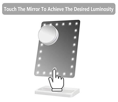 Waneway Lighted Makeup Mirror