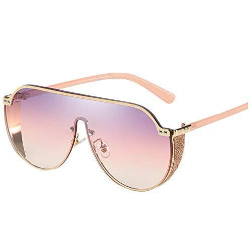 Dorical Sonnenbrillen für Damen Unisex Retro Polarisierte Damen Sonnenbrille UV400 Schutz Brille, Klassisch Big Rahmen Sonnenbrillen Brillen(E)