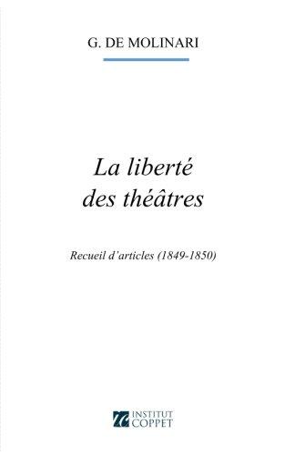 La liberte des theatres