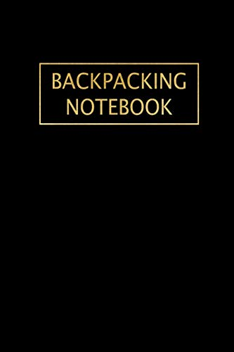 Zoom IMG-2 backpacking notebook beautiful black gold