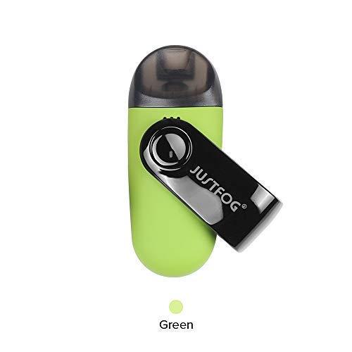 Justfog - C601 Kit VERDE GREEN ORIGINALE sigaretta elettronica 650 mAh SENZA NICOTINA