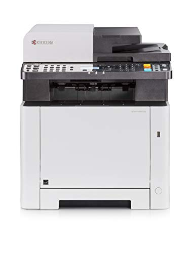Kyocera Ecosys M5521cdn Farblaser Multifunktionsdrucker. Drucker, Kopierer, Scanner, Faxgerät. Inkl. Mobile-Print-Funktion. Amazon Dash Replenishment-Kompatibel
